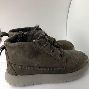 Boys zip Ugg waterproof boots